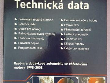 AUTODATA - Technická data 2008 (nová kniha)